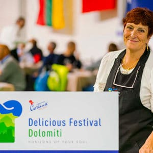 Delicious Festival Dolomiti at Averau Mountain Hut in 5 Torri, Cortina d'Ampezzo