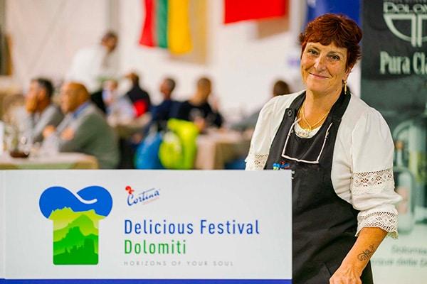 Delicious Festival Dolomiti al Rifugio Averau in 5 Torri a Cortina d'Ampezzo