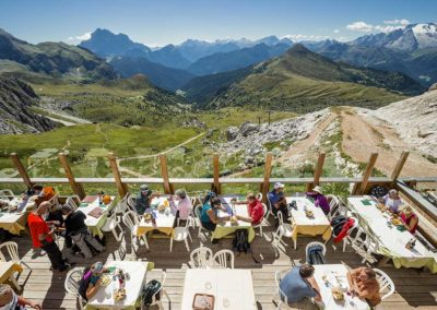 Rifugio Averau - 5 Torri - Cortina d'Ampezzo - Terrazza Ristorante
