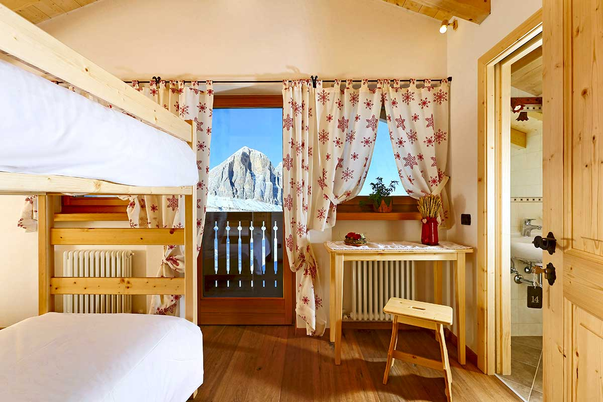 Camera 4 - Suite Family - Rifugio Averau - 5 Torri - Dolomiti - Cortina d'Ampezzo