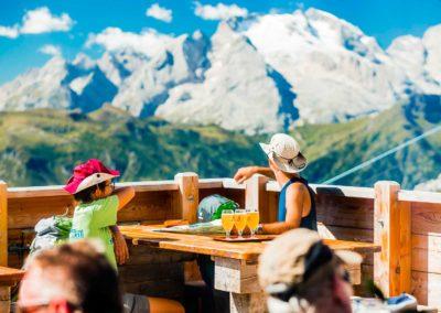 Terrazza Estate - Rifugio Averau - 5 Torri - Dolomiti - Cortina d'Ampezzo