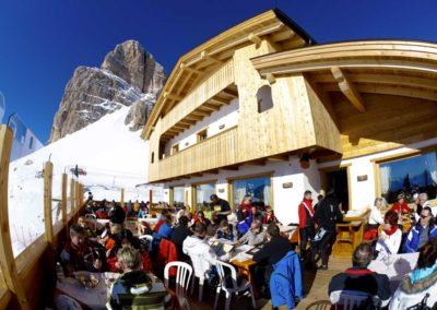 Terrazza Inverno - Rifugio Averau - 5 Torri - Dolomiti - Cortina d'Ampezzo