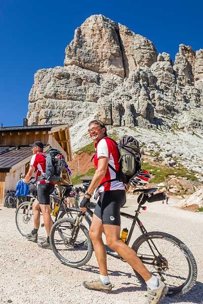 Rifugio Averau - 5 Torri - Dolomiti - Cortina d'Ampezzo - Bike MTB