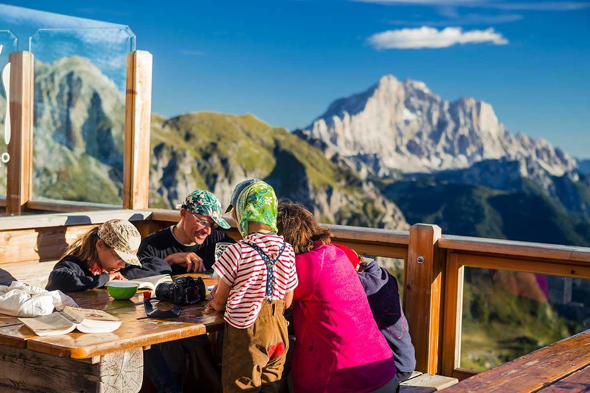 Rifugio Averau - 5 Torri - Dolomiti - Cortina d'Ampezzo - Family