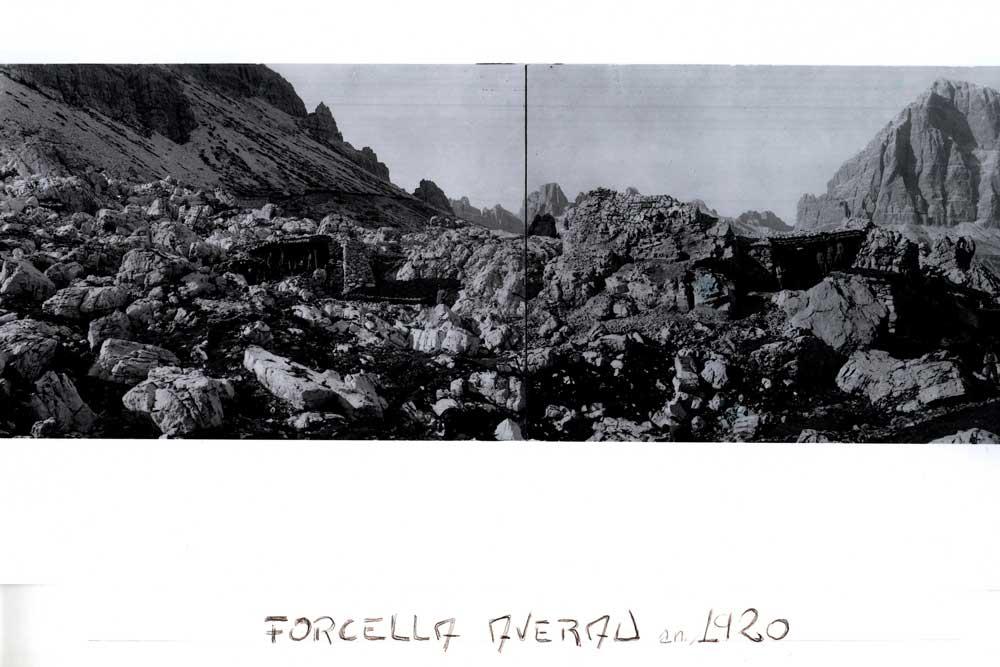Forcella Nuvolau 1920 in 5 Torri a Cortina d'Ampezzo