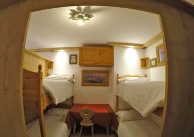 Migliorie camerate estate 2020 al Rifugio Averau in 5 Torri a Cortina d'Ampezzo