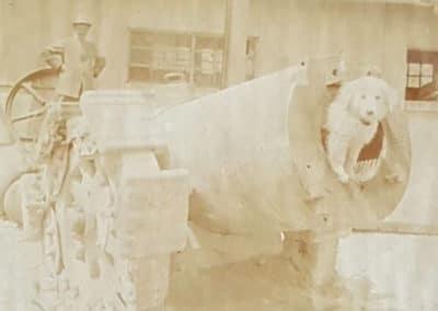 Artiglieria - Grande Guerra al Rifugio Averau - 5 Torri - Cortina d'Ampezzo © Collezione Museo Storico 7° Reggimento Alpini
