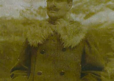 Caporale Barbacini dell'artiglieria Prà Pontin - Grande Guerra Rifugio Averau - 5 Torri - Cortina d'Ampezzo © Collezione Francesco Quaglio