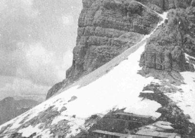 Campo militare - Grande Guerra al Rifugio Averau - 5 Torri - Cortina d'Ampezzo © Collezione Carlo Balelli