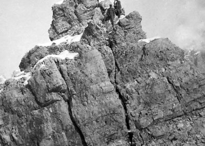 Cima Averau - Grande Guerra al Rifugio Averau - 5 Torri - Cortina d'Ampezzo © Collezione Carlo Balelli
