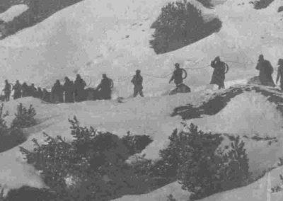 Teleferiche - Grande Guerra al Rifugio Averau - 5 Torri - Cortina d'Ampezzo © Collezione Carlo Balelli