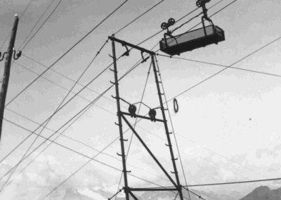 Teleferiche - Grande Guerra al Rifugio Averau - 5 Torri - Cortina d'Ampezzo © Collezione Paolo Giacomel