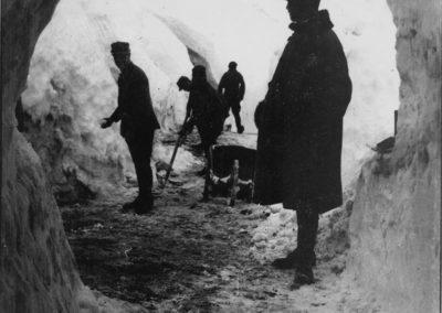 Trincee - Grande Guerra al Rifugio Averau - 5 Torri - Cortina d'Ampezzo © Collezione Francesco Quaglio