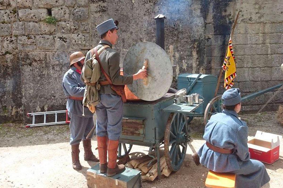 Rievocatori storici - Grande Guerra al Rifugio Averau - 5 Torri - Cortina d'Ampezzo
