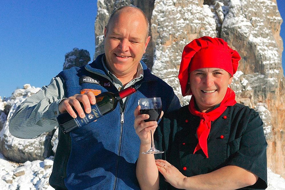 Sandrone e Paola - Rifugio Averau - 5 Torri - Cortina d'Ampezzo - Dolomiti